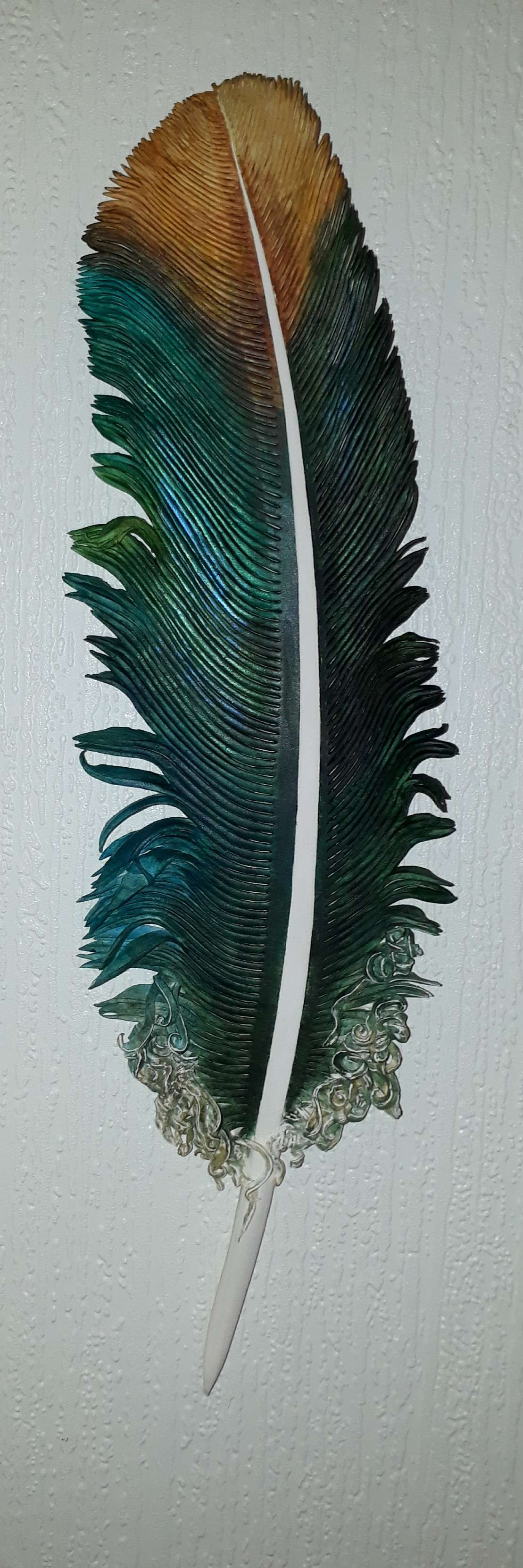 Kingfisher Feather