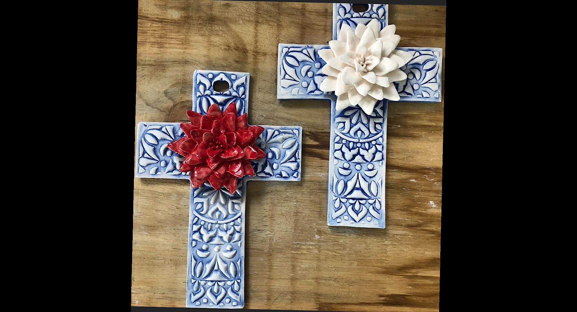 Ceramic Cross Mexican
