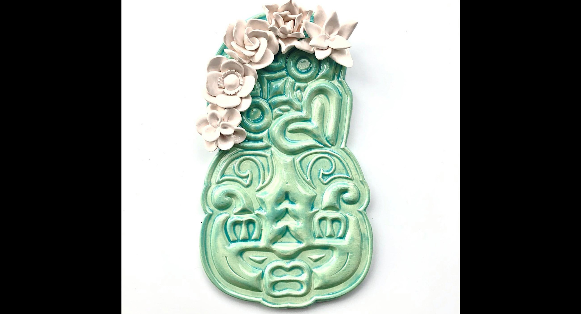 Ceramic Tiki Medium